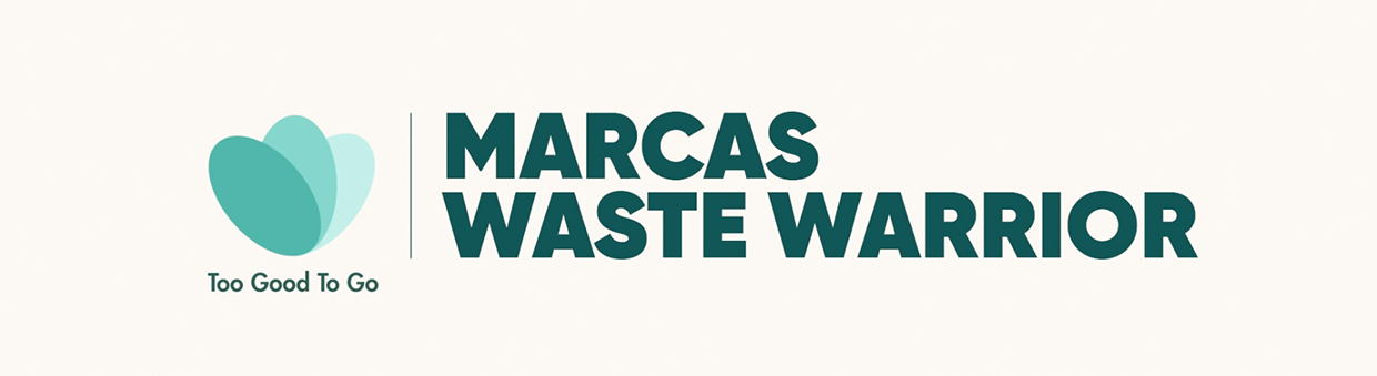 Logotipo del proyecto Marcas Waste Warrior de Too Good To Go